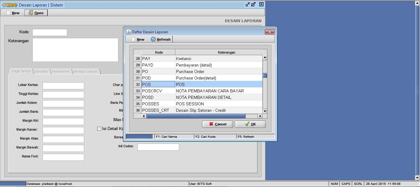 Cara Menggunakan Parameter SUM/ Jumlah di Text Report
