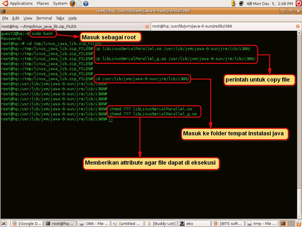 Printer Barcode Sato CX400 di Linux Ubuntu
