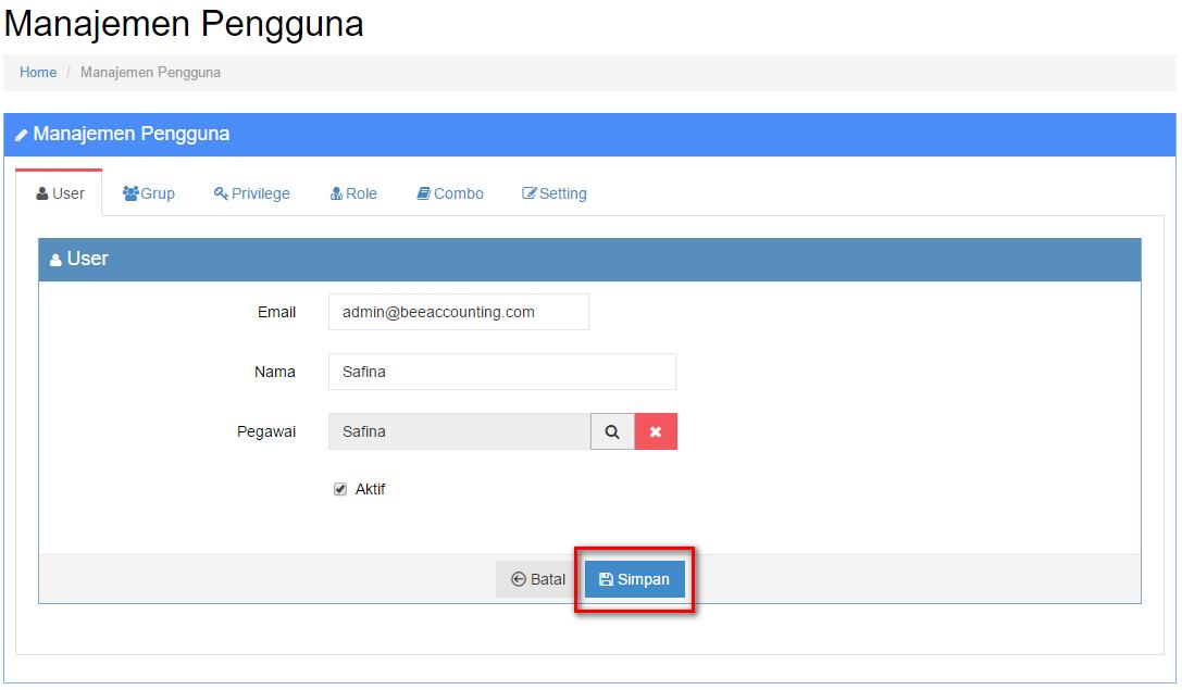 Tambah User Pengguna untuk Karyawan/Kasir/Operator Beepos