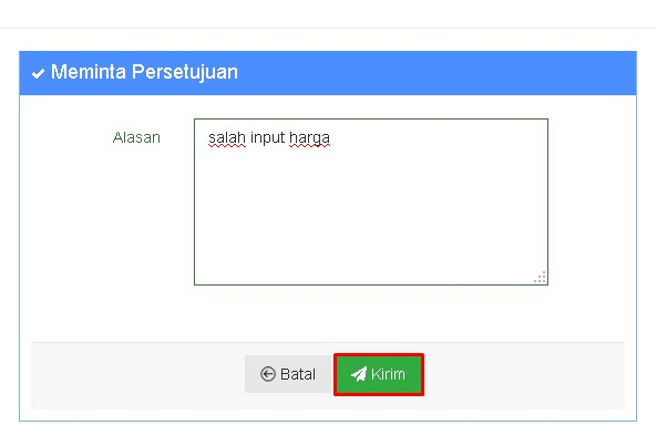 Cara Approval Pada Android Dashboard