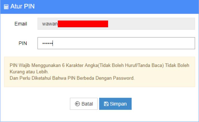 Menambah User Account Pengguna