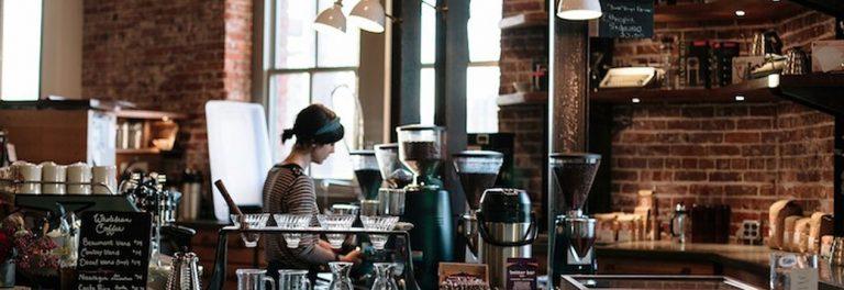 bisnis kedai kopi sederhana