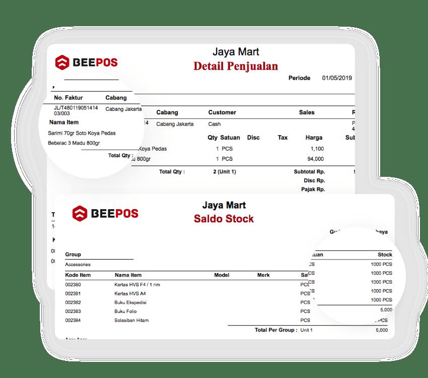 Software Kasir Stok Penjualan Laporan