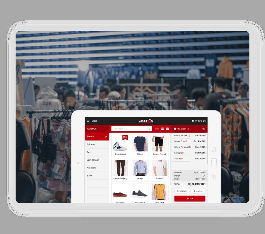 Software Kasir untuk Mall dan Desa
