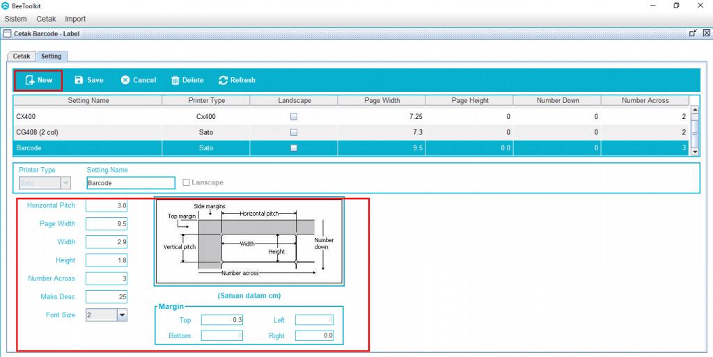 Cara Cetak Print Barcode pada Software Beecloud
