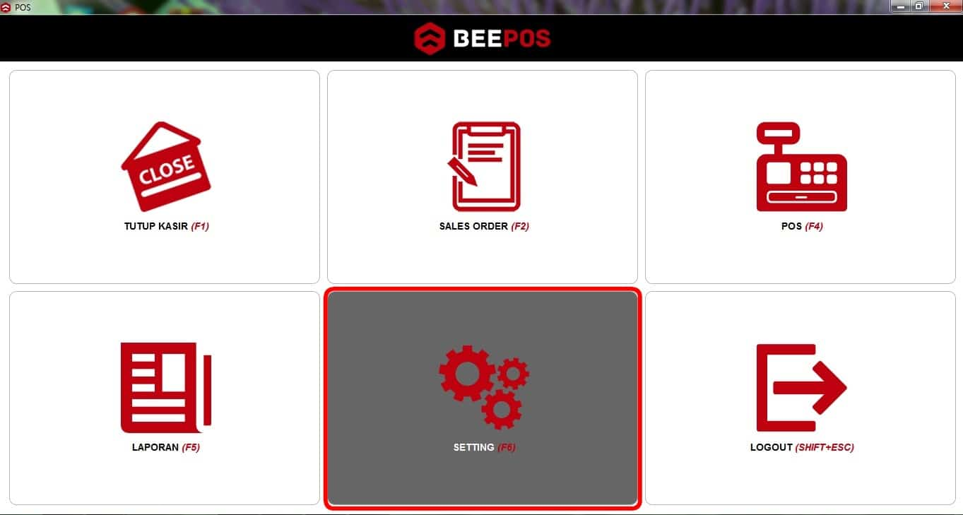 Pengaturan Setting Printer Beepos Desktop