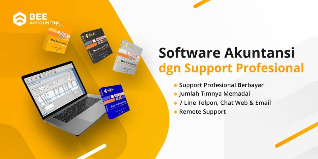 Banner Beeaccounting Support Profesional - Twitter