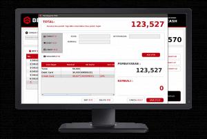 Software Kasir Beepos Desktop Tampilan Pembayaran