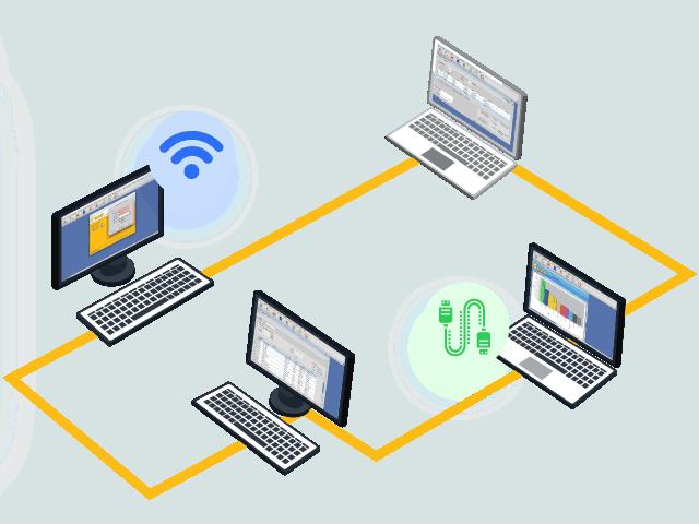 Gambar Software Akuntansi Keamanan Data Konek LAN Wifi