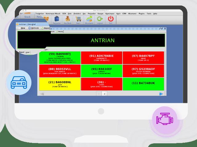 Software Akuntansi Custom Plugin Bengkel Sparepart Gambar