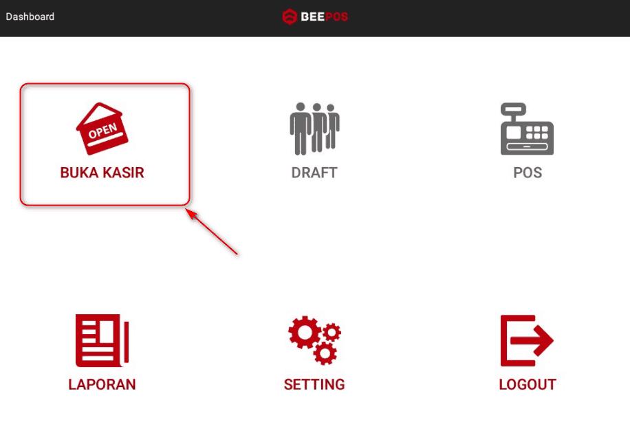 Setting Modal Kasir Beepos Mobile