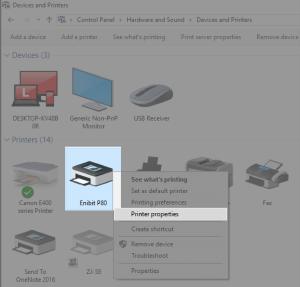 Share Printer Windows Cetak Logo Beepos