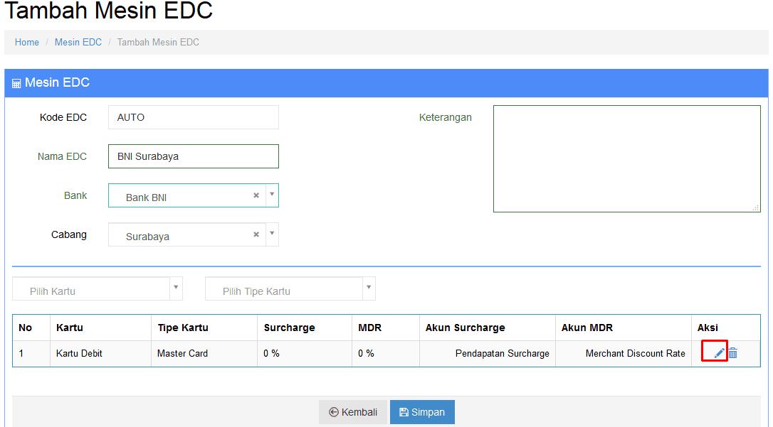 Pengaturan Multi Payment Beepos Mobile