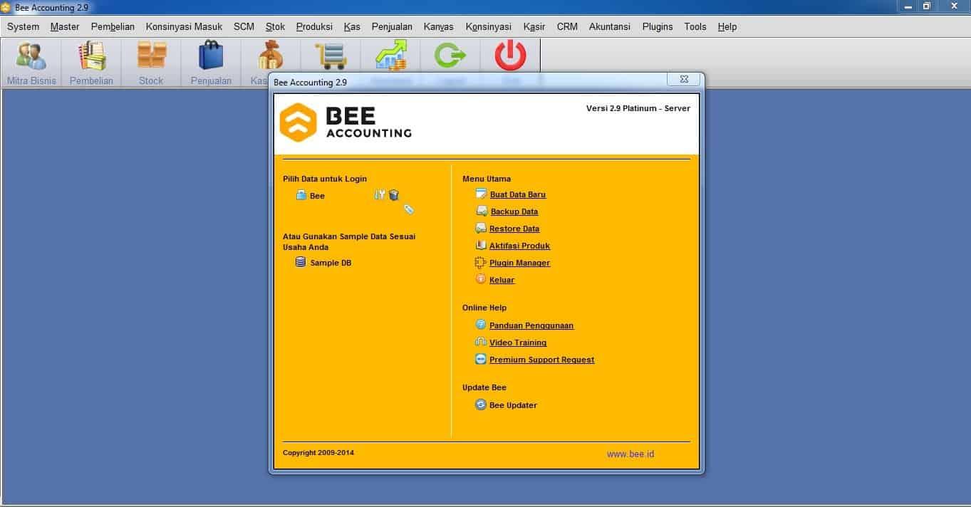 Upgrade dari Bee 2.7 ke Bee 2.9