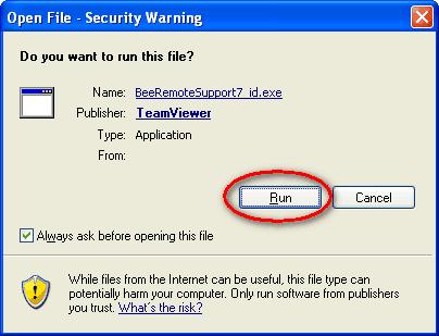 Request Remote Support Beepos Desktop