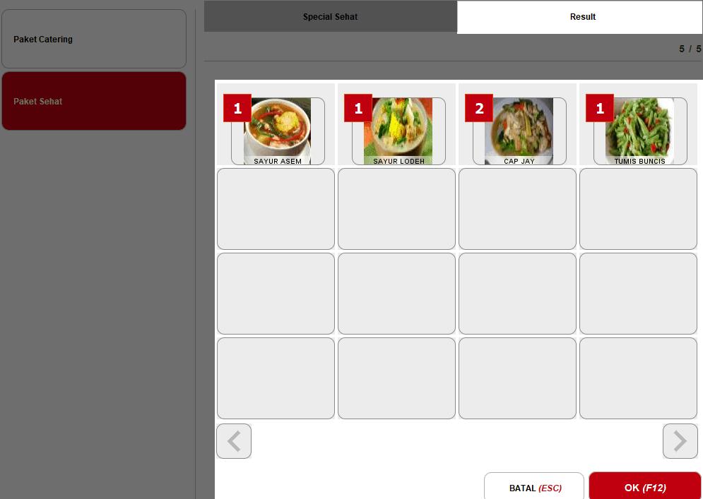 Cara Penggunaan Paket Assortment