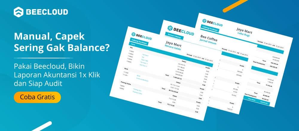 Software Akuntansi Laporan Sekali Klik