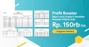 Banner Laporan Profit Booster di Beecloud FB