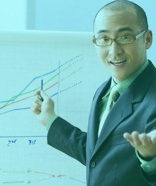 Ilustrasi Sales Manager Profit Booster