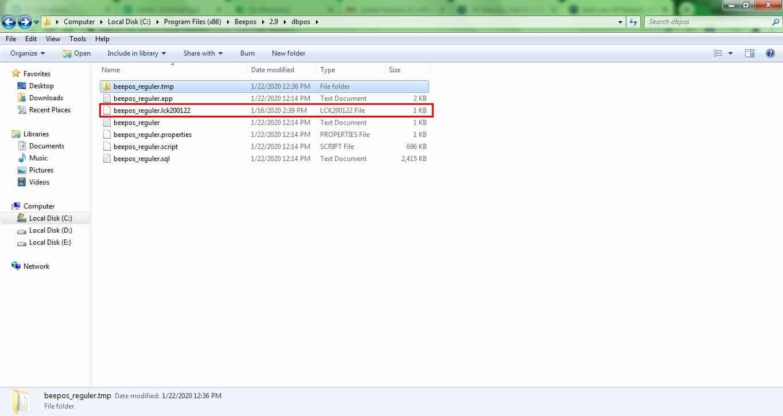 Database Tidak Terbaca Beepos Desktop (Unable to obtain Jdbc connection ....)