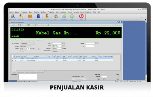Software Bengkel Screenshot Penjualan Kasir
