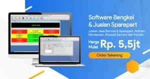 Banner Software Bengkel Meta Facebook