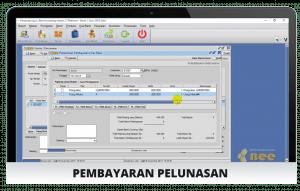Tampilan Pelunasan - Software Lunas