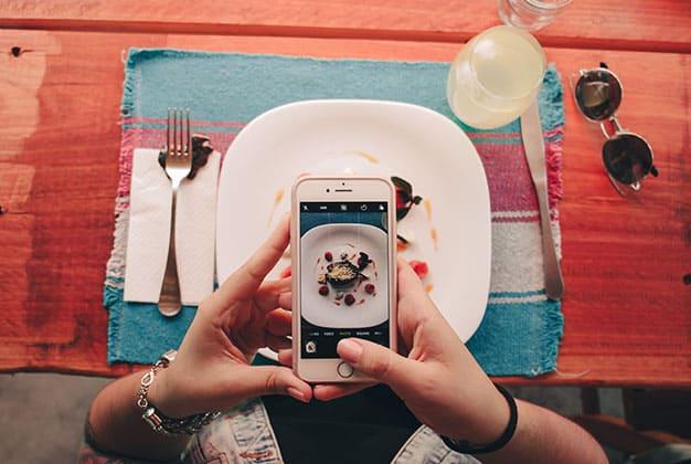 Foto Instagramable di Restoran