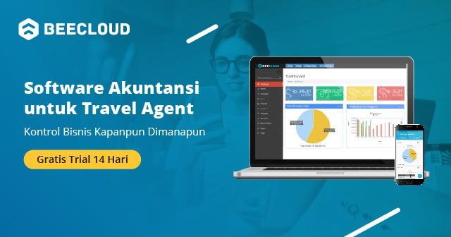 Banner Beecloud untuk Travel Agent