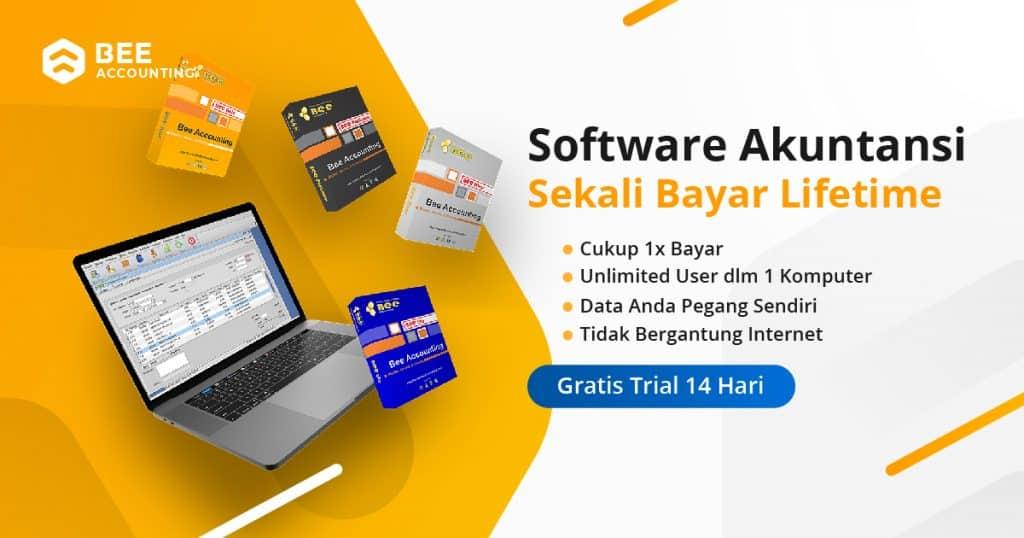Gratis Trial Beeaccounting - Software Akuntansi Sekali Bayar