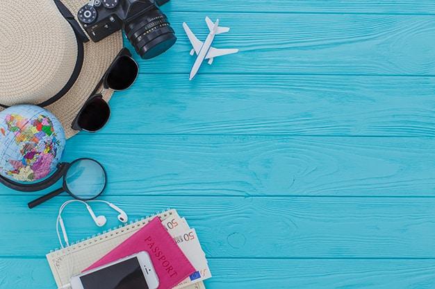 Gambar Perlengkapan Travel Agent