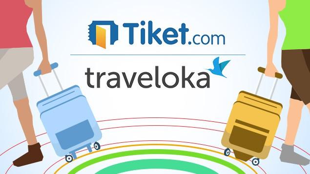 Tiketcom vs Traveloka