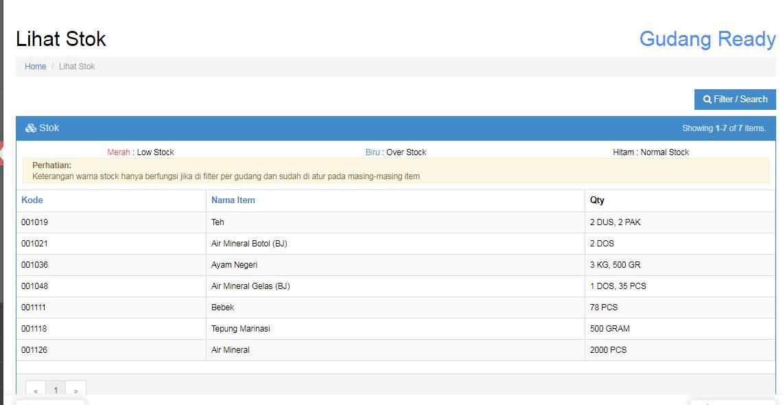 Cara Input Stock Opname