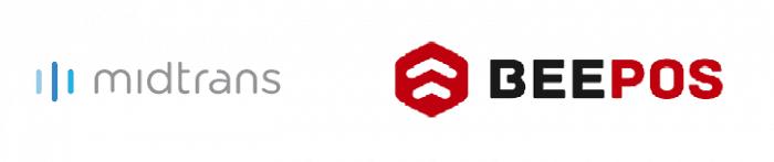 Gb 1. Logo Beepos dan Midtrans