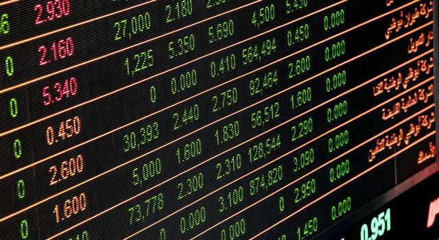 Monitor Angka di Pasar Saham