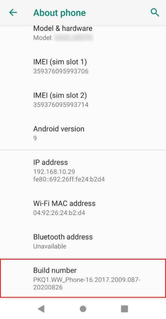Cara Mengaktifkan / Pengaturan Mode Debug Android Version 9