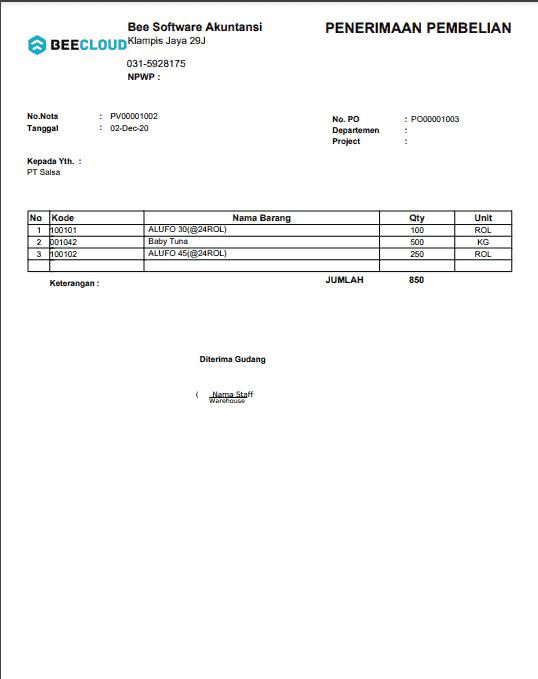 16. InvoicePenerimaanPembelian A4