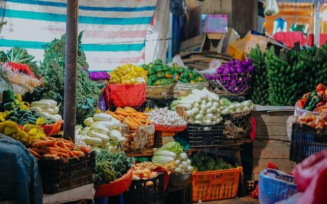 Usaha Mikro di Pasar
