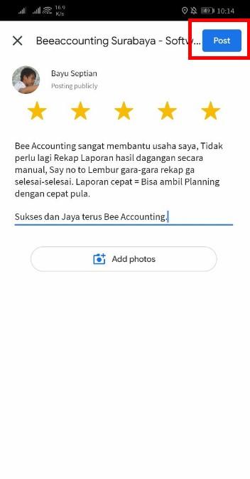 Cara Claim Promo Bee Accounting