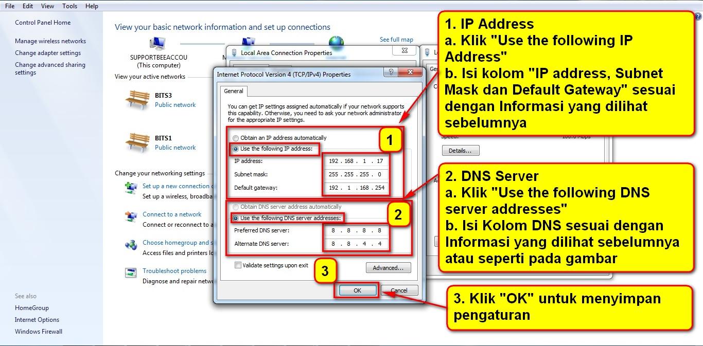 6. Koneksi TCP Properties 2