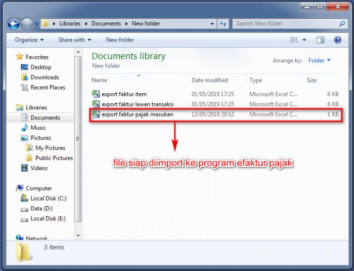 Gb 4 Hasil File Export Efaktur Berupa CSV