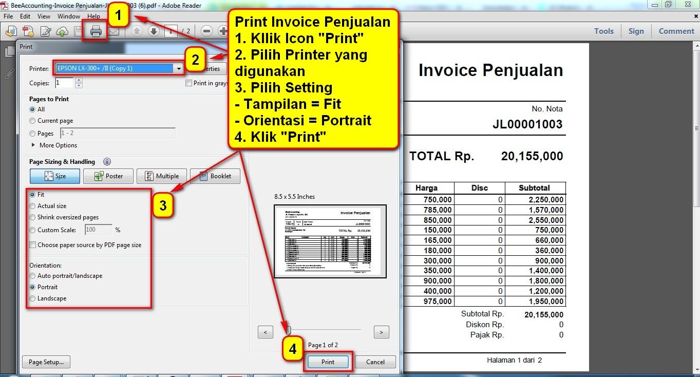 7.2. Invoice Print