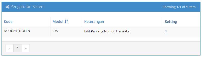 Mengaktifkan Setting Panjang Digit Nomor Transaksi 03