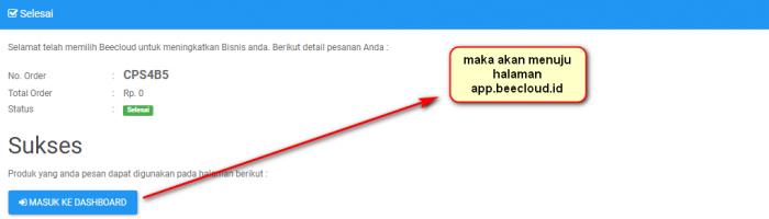 Gb 6. Silahkan kembali halamana app.beecloud.id